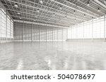 3d rendering interior empty... | Shutterstock . vector #504078697