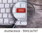 business concept  family... | Shutterstock . vector #504116707