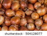 pile of onions background.