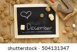 love 5 december written in... | Shutterstock . vector #504131347