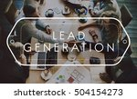 Small photo of Lead Generation Analysis Business Concept