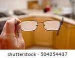 glasses fogged with moisture... | Shutterstock . vector #504254437