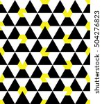 seamless geometric pattern with ... | Shutterstock .eps vector #504276823