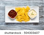 Mexican Nachos Chips With Spic...