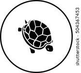 turtle symbol | Shutterstock .eps vector #504367453