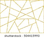 gold triangle background. gold... | Shutterstock .eps vector #504415993