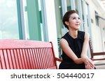 modern girl   celebrity  ... | Shutterstock . vector #504440017