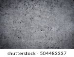 grungy concrete wall and floor... | Shutterstock . vector #504483337