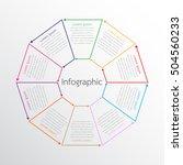 vector infographic templates... | Shutterstock .eps vector #504560233