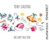 Merry Christmas Seamless Borde...