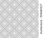 vector pattern. geometric...   Shutterstock .eps vector #504684517