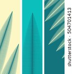 3 bookmarks background with... | Shutterstock .eps vector #504701413