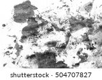 grunge ink stains on white paper   Shutterstock . vector #504707827