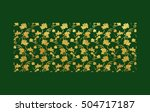 vector illustration of gold... | Shutterstock .eps vector #504717187