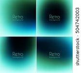 smooth vintage backgrounds... | Shutterstock .eps vector #504742003