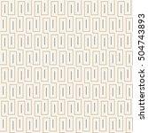 seamless abstract maze vector...   Shutterstock .eps vector #504743893