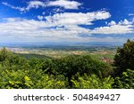 alsace region of north east... | Shutterstock . vector #504849427