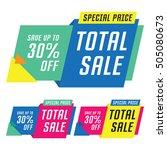 sale  discount  price cut...   Shutterstock .eps vector #505080673