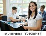 business leader | Shutterstock . vector #505085467