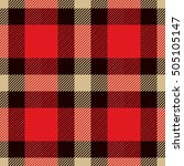 tartan seamless pattern. trendy ...   Shutterstock .eps vector #505105147