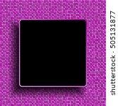 pink sequins background black... | Shutterstock . vector #505131877