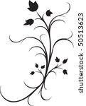 ivy embellishment | Shutterstock .eps vector #50513623
