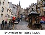 Edinburgh  Scotland  Uk...