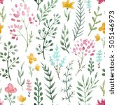 Seamless Floral Background ...