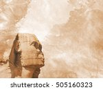 Head Sphinx Egyptian Background