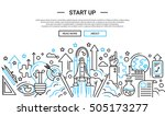 start up   illustration of... | Shutterstock .eps vector #505173277