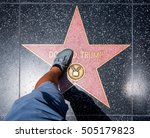 los angeles  usa   august 5 ... | Shutterstock . vector #505179823