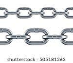 Seamless Silver Chain Pattern...