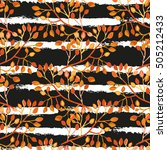 elegant seamless pattern with...   Shutterstock . vector #505212433