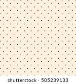 polka dot pattern  | Shutterstock . vector #505239133