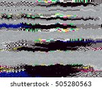 glitch background. computer... | Shutterstock .eps vector #505280563