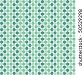 pattern from sea green heptagon ... | Shutterstock .eps vector #50529298