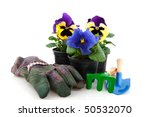gardening with plants gloves... | Shutterstock . vector #50532070