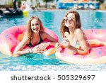 Two Girls Playing With Water I...