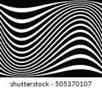 grunge stripe. vector... | Shutterstock .eps vector #505370107