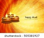 yellow color vector background... | Shutterstock .eps vector #505381927