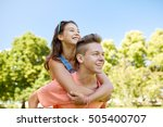 holidays  vacation  love and... | Shutterstock . vector #505400707