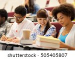 education  high school ... | Shutterstock . vector #505405807