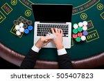 casino  online gambling ...   Shutterstock . vector #505407823