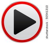 play button | Shutterstock .eps vector #50541310