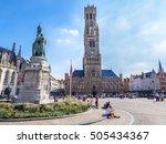 Bruges  Belgium. Belfry Of...