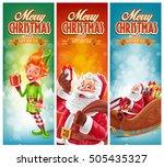 christmas banner | Shutterstock .eps vector #505435327