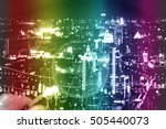 data analyzing in forex ... | Shutterstock . vector #505440073