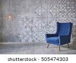 Beautiful Grey Wall With...