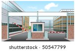 factory entrance | Shutterstock .eps vector #50547799