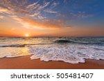 sunrise in the morning  sunrise ... | Shutterstock . vector #505481407